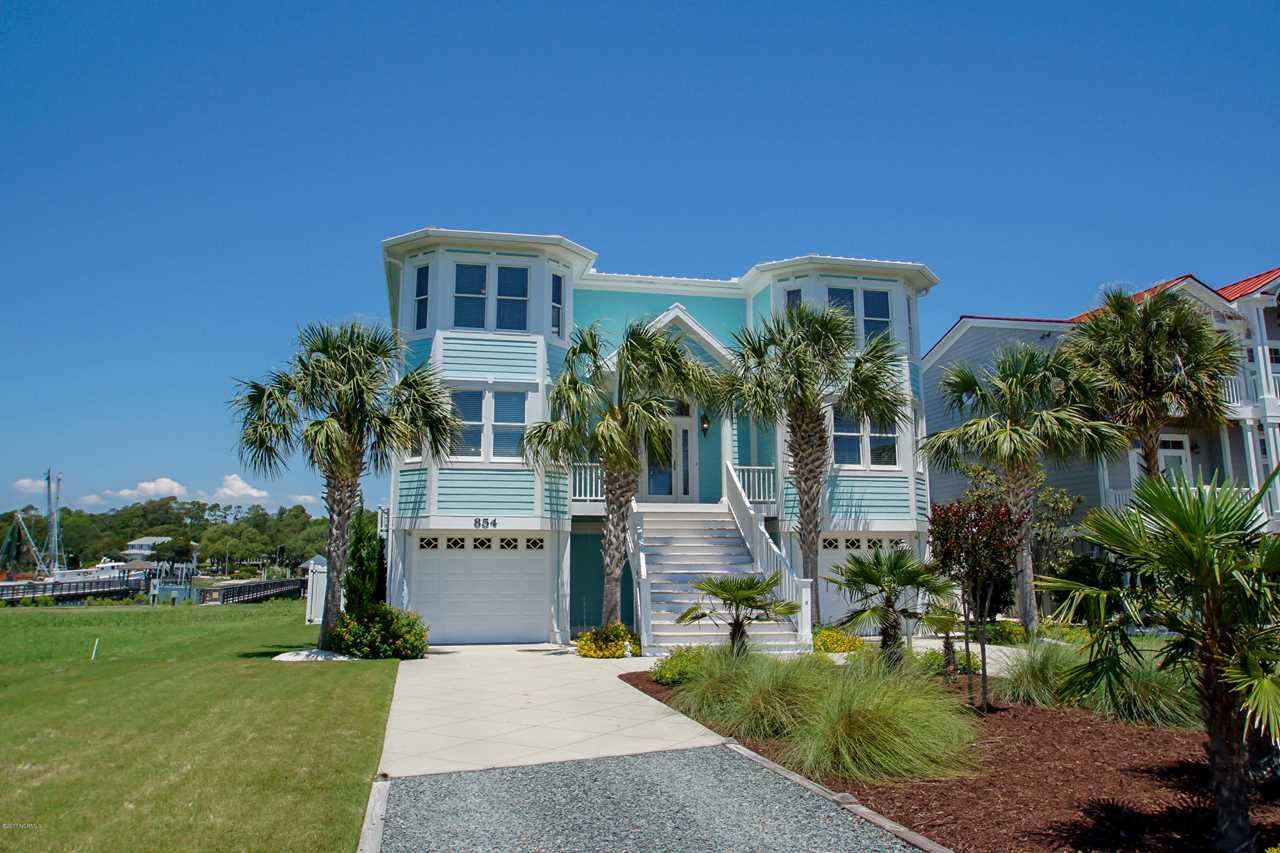 854 Heron Landing Wynd Holden Beach, NC 28462 | MLS 100063796
