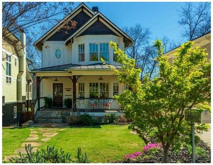 1481 Pine St NW, Atlanta GA 30309, MLS # 5817031 | Loring Heights Photo 1