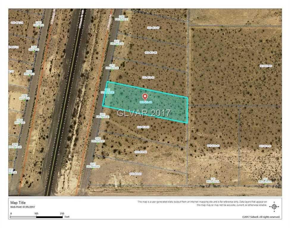 Pahrump Nv Zip Code Map.3081 N Frontage Pahrump Nv 89060 Mls 1896327
