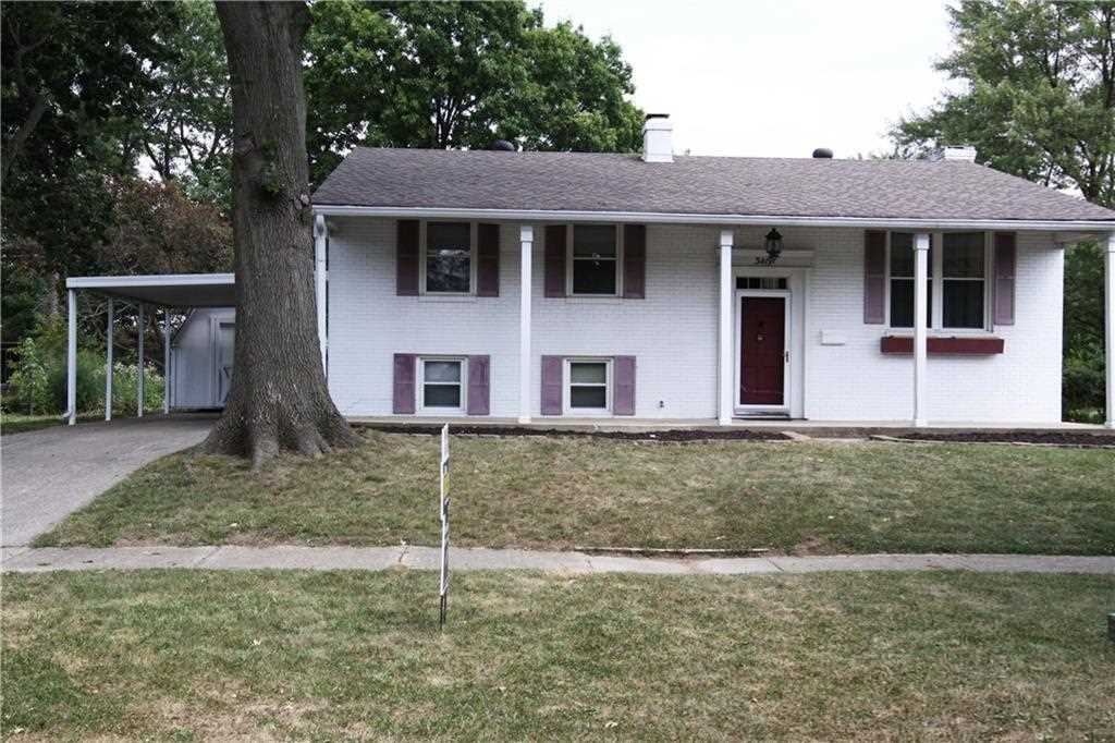 3419 Patton Drive Indianapolis, IN 46224 | MLS 21506313 Photo 1