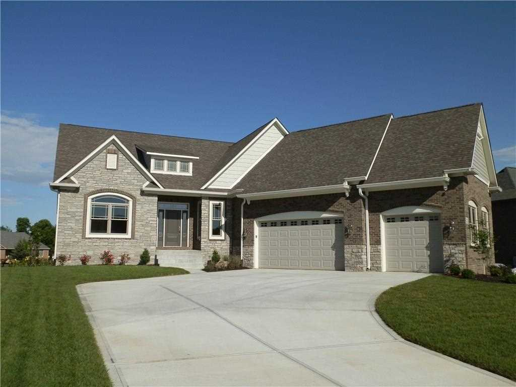 1732 Calvert Farms Drive Greenwood, IN 46143 | MLS 21417351 Photo 1
