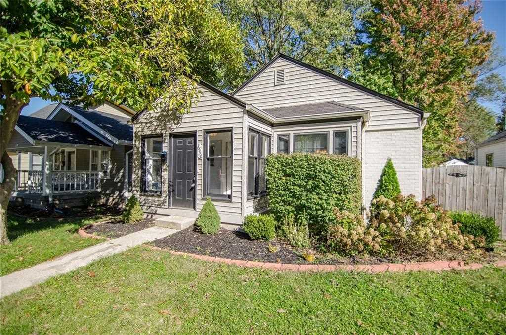 6119 Crittenden Avenue Indianapolis, IN 46220 | MLS 21512551 Photo 1