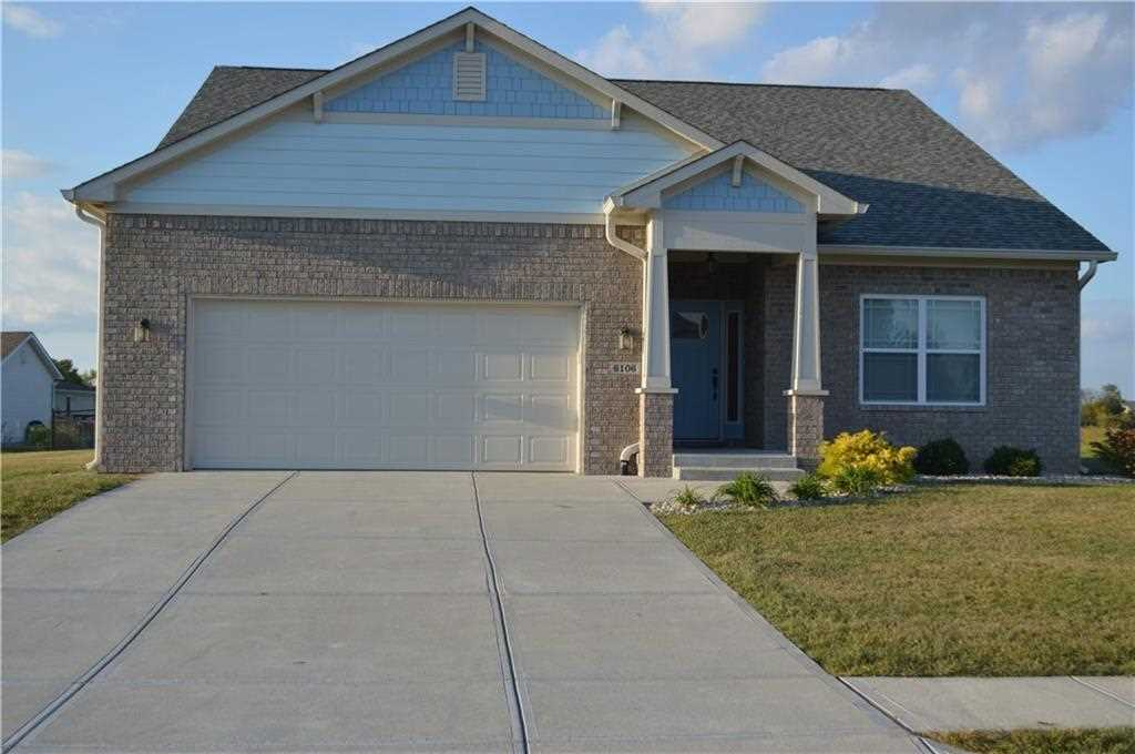 6106 E Arrival Parkway Camby, IN 46113 | MLS 21519873 Photo 1