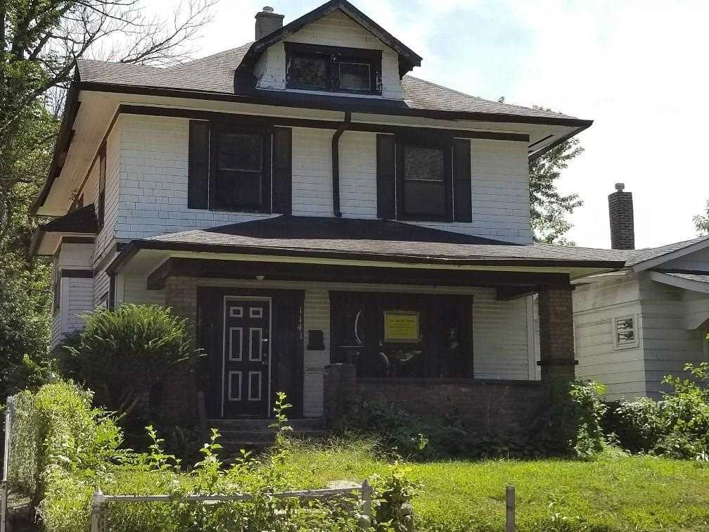 1141 w 35th street indianapolis in 46208 mls 21520816 for Tradamer style house