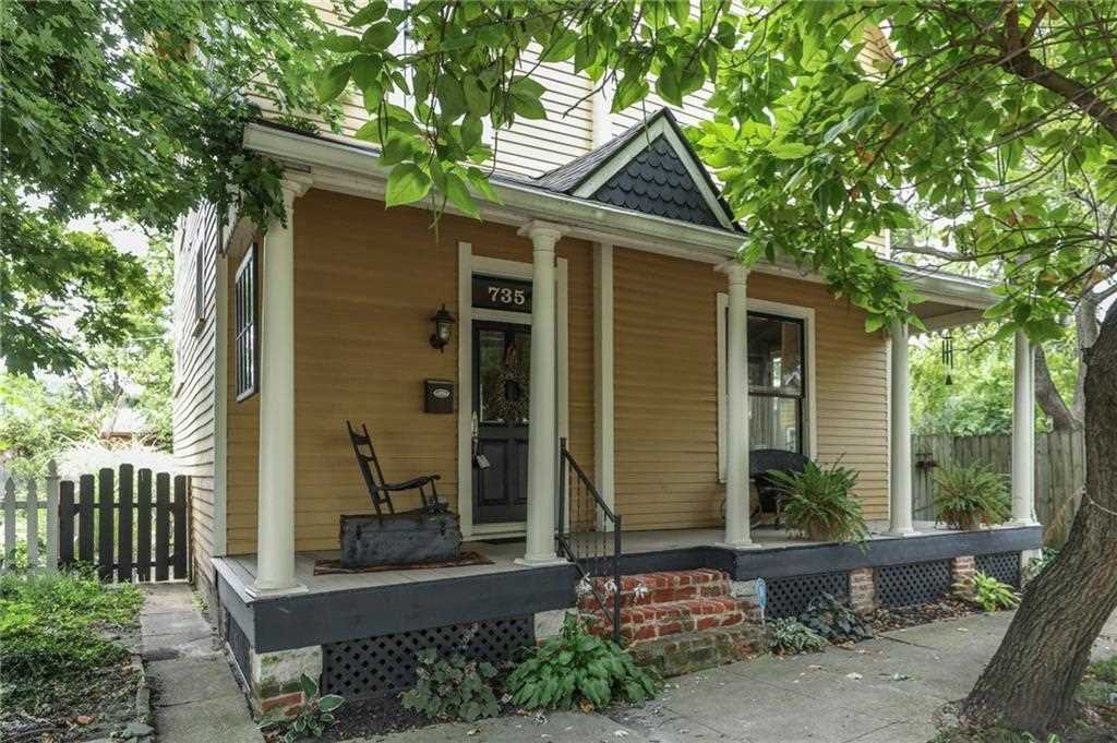 735 Harrison Street Indianapolis, IN 46202 | MLS 21511633 Photo 1