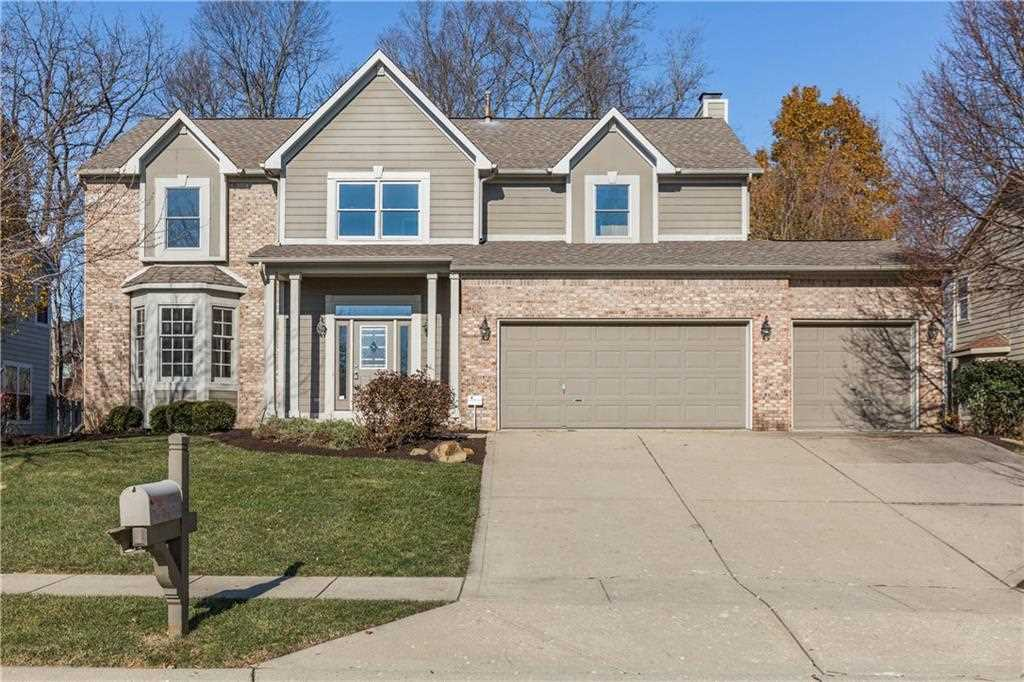 10866 Pine Bluff Drive Fishers, IN 46037 | MLS 21527643 Photo 1