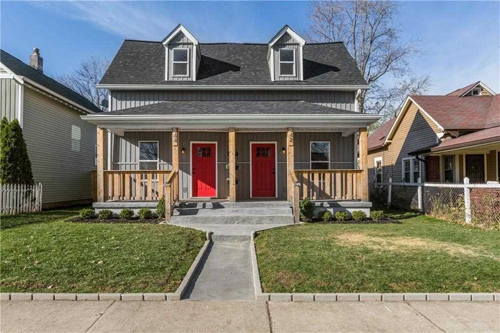 842 Wright Street Indianapolis, IN 46203 | MLS 21526732 Photo 1
