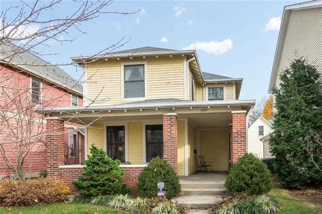 1525 N Carrollton Avenue Indianapolis, IN 46202 | MLS 21534408 Photo 1