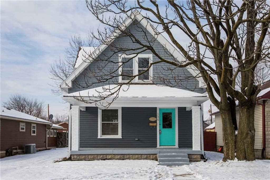 136 S Arlington Avenue Indianapolis, IN 46219 | MLS 21539614 Photo 1