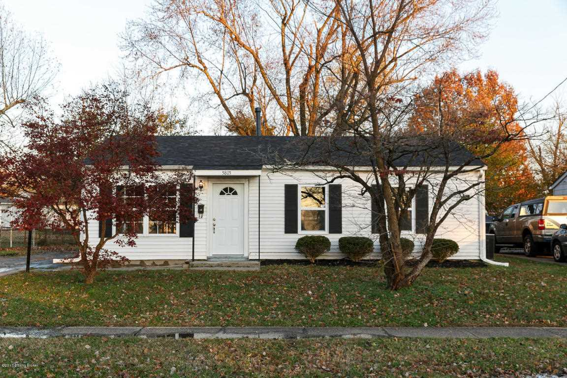 5805 Norton Ave Louisville KY in Jefferson County - MLS# 1491490 | Real Estate Listings For Sale |Search MLS|Homes|Condos|Farms Photo 1