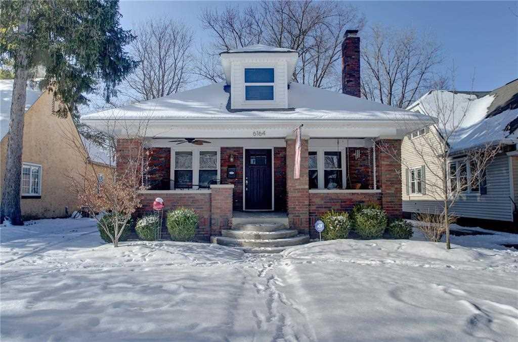 6164 Carrollton Avenue Indianapolis, IN 46220 | MLS 21541993 Photo 1