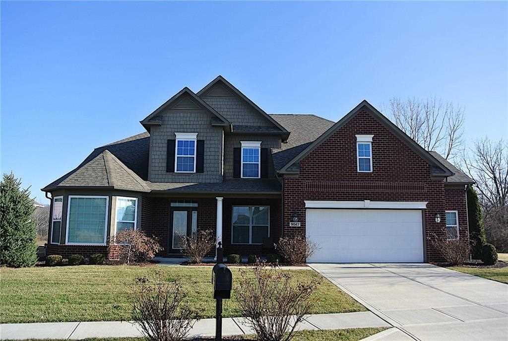 9027 Crystal River Drive Indianapolis, IN 46240 | MLS 21542591 Photo 1