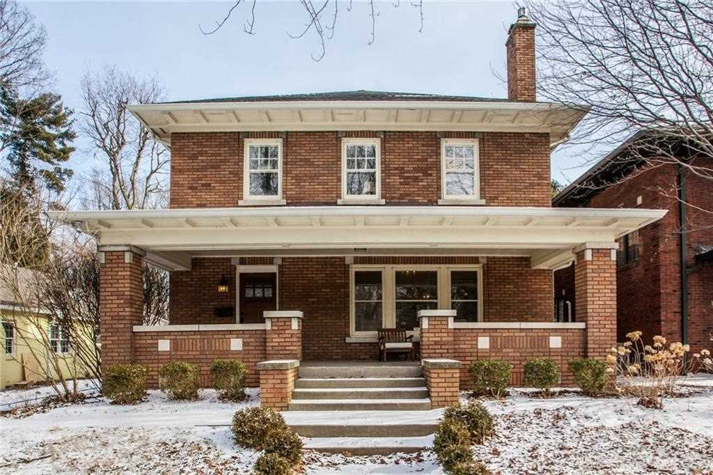 4315 N Pennsylvania Street Indianapolis, IN 46205 | MLS 21544911 Photo 1
