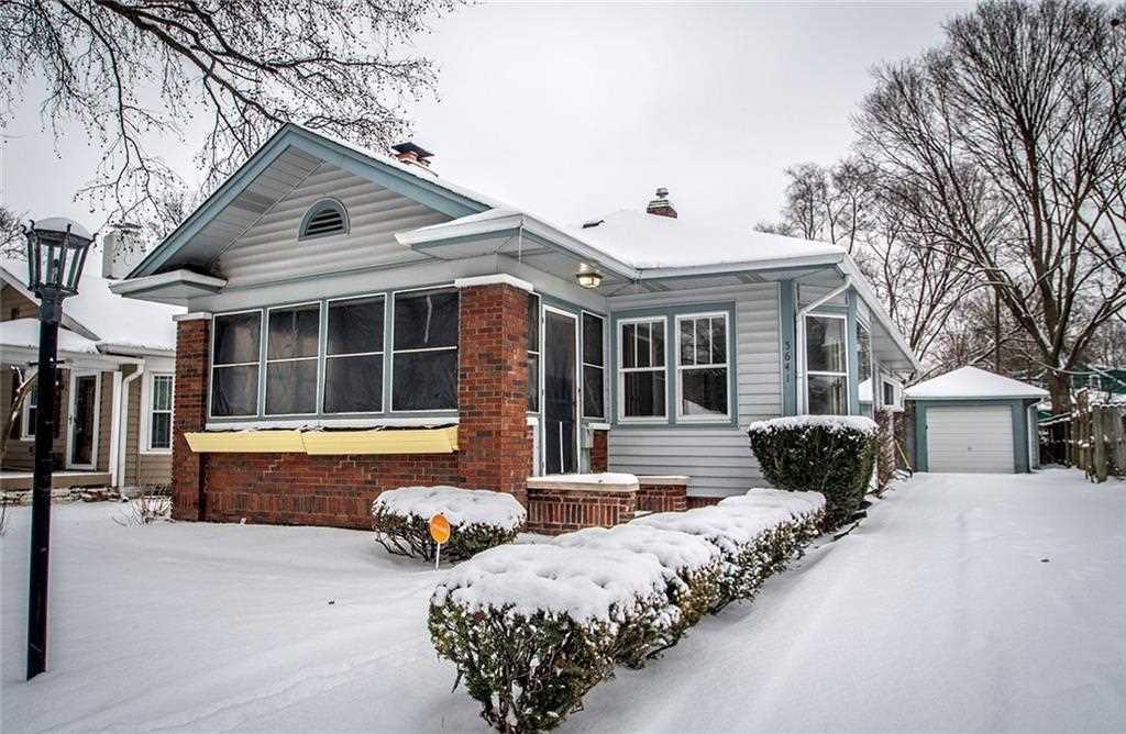 5641 Carrollton Avenue Indianapolis, IN 46220 | MLS 21546033 Photo 1