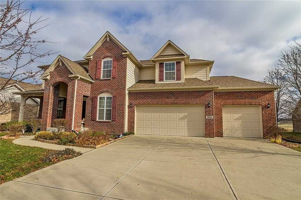 3885 Shady Pointe Row Greenwood, IN 46143 | MLS 21527970 Photo 1