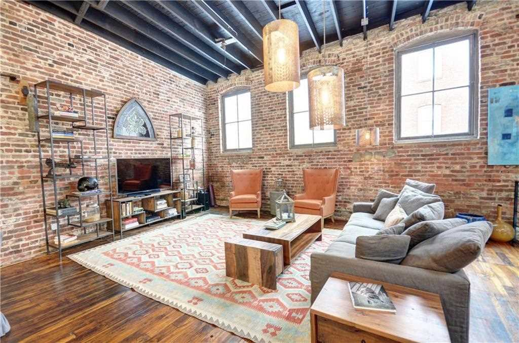 Rare Live Work Loft Is Located In The Means Street Historic District West Midtown