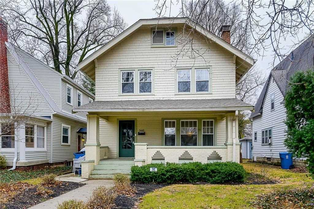 5449 N College Avenue Indianapolis, IN 46220 | MLS 21545044 Photo 1