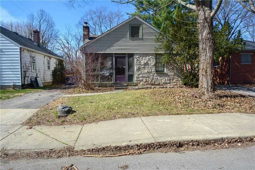 6108 N Indianola Avenue N Indianapolis, IN 46220 | MLS 21548433 Photo 1