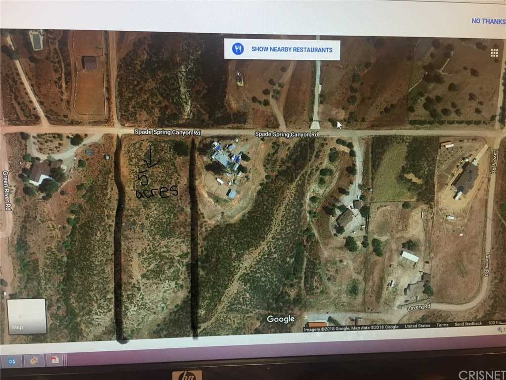 Agua Dulce California Map.0 Vac Spade Spr Canyon Drt Vic Agua Dulce Ca 91350 Custom Agua