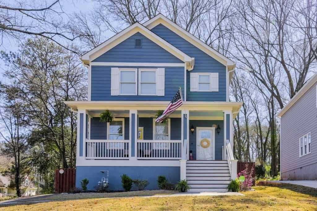 1485 Memorial Dr SE is a homes for sale located in the Kirkwood community of Atlanta Photo 1