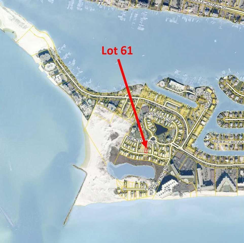 Map Of Destin Florida Area.Lot 61 Rosalie Drive Destin Fl 32541 Mls 714332