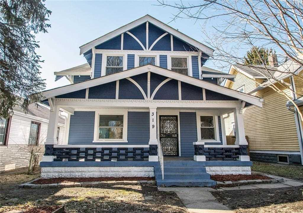 319 Northern Avenue Indianapolis, IN 46208 | MLS 21554701 Photo 1