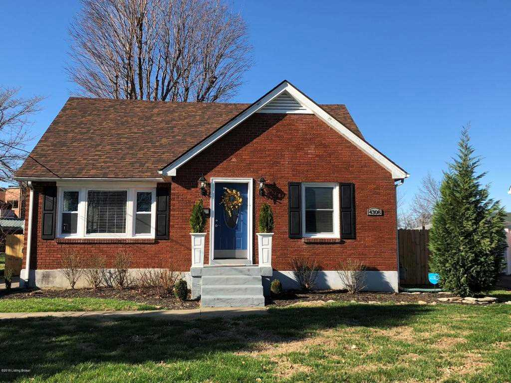 4308 Hannah Ave Louisville KY in Jefferson County - MLS# 1497393 | Real Estate Listings For Sale |Search MLS|Homes|Condos|Farms Photo 1