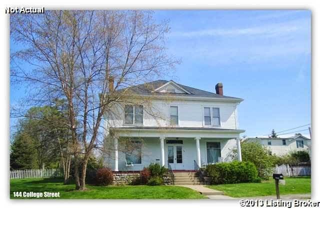 144 College St New Castle KY in Henry County - MLS# 1480438   Real Estate Listings For Sale  Search MLS Homes Condos Farms Photo 1