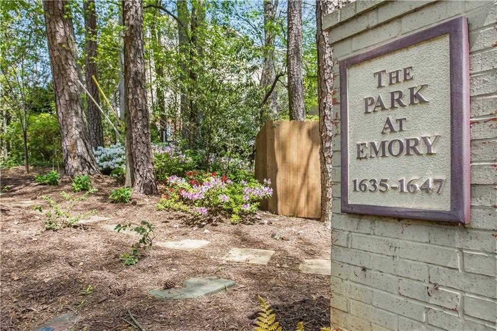 1635 Briarcliff Rd NE #2 is a condos for sale located in the The Park At Emory Ii community of Atlanta Photo 1