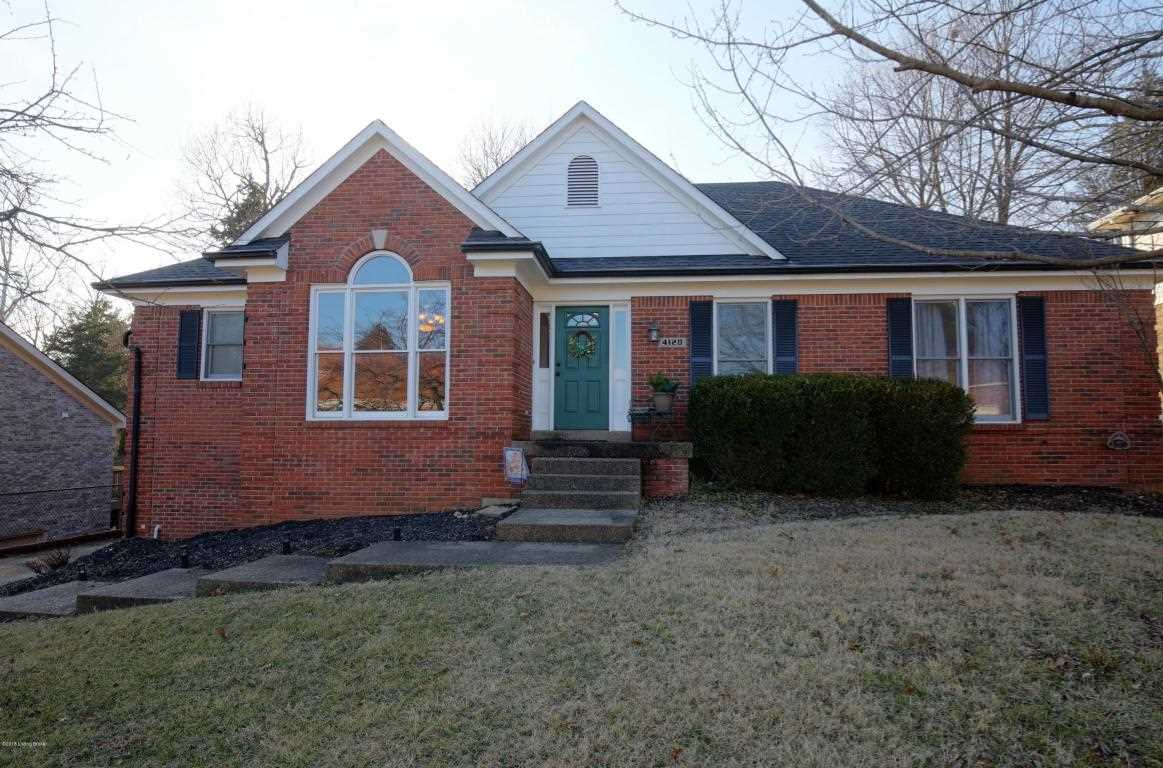 4120 Saratoga Woods Dr Louisville KY in Jefferson County - MLS# 1495863   Real Estate Listings For Sale  Search MLS Homes Condos Farms Photo 1