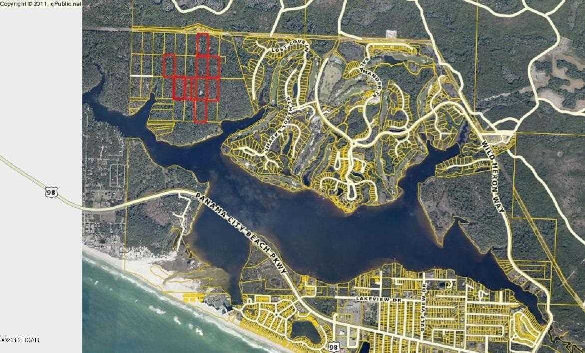 Map Of Panama City Beach Florida.30 2s 17w 22 Panama City Beach Fl 32413 Mls 798356
