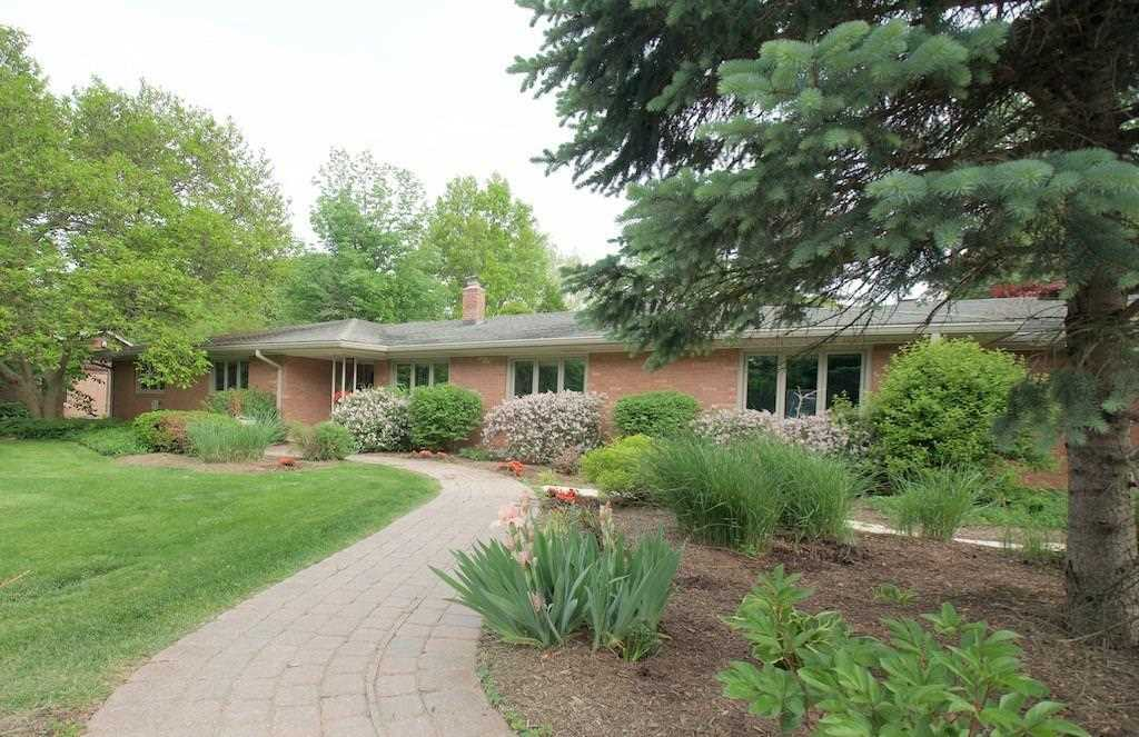 9302 Spring Mill Road Indianapolis, IN 46260 | MLS 21556010 Photo 1