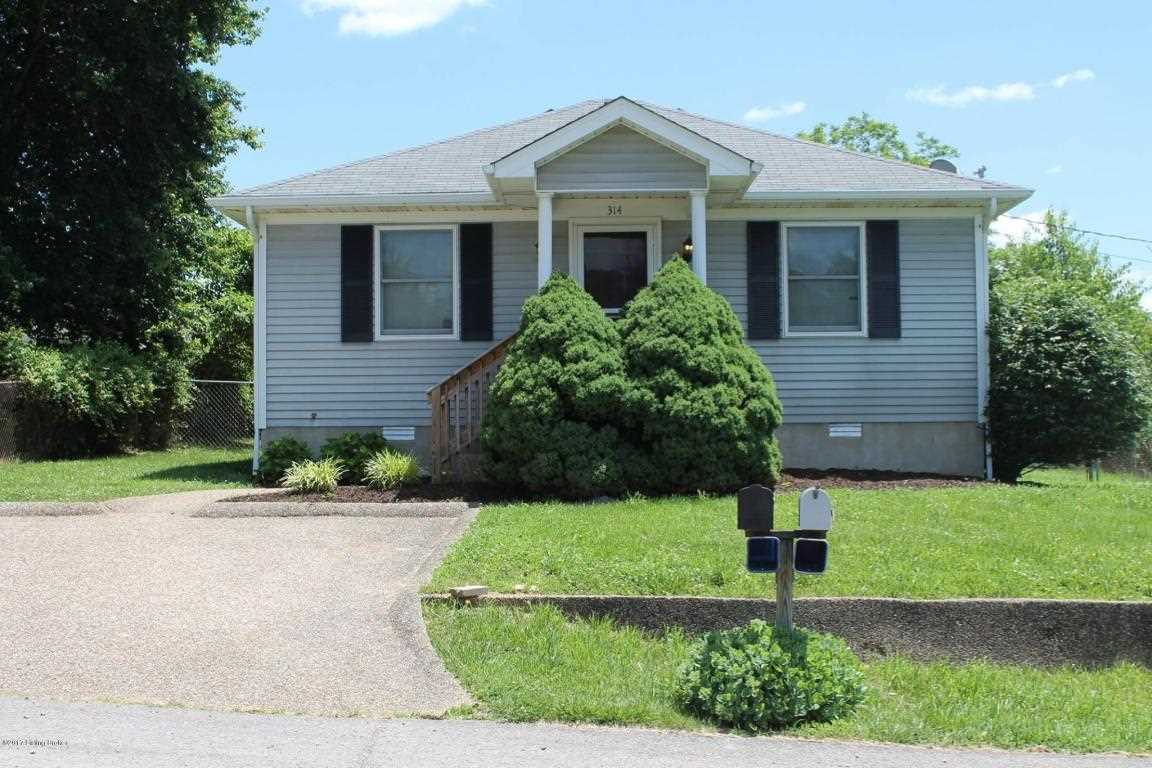 314 Greenhill St Vine Grove KY in Hardin County - MLS# 1492679   Real Estate Listings For Sale  Search MLS Homes Condos Farms Photo 1