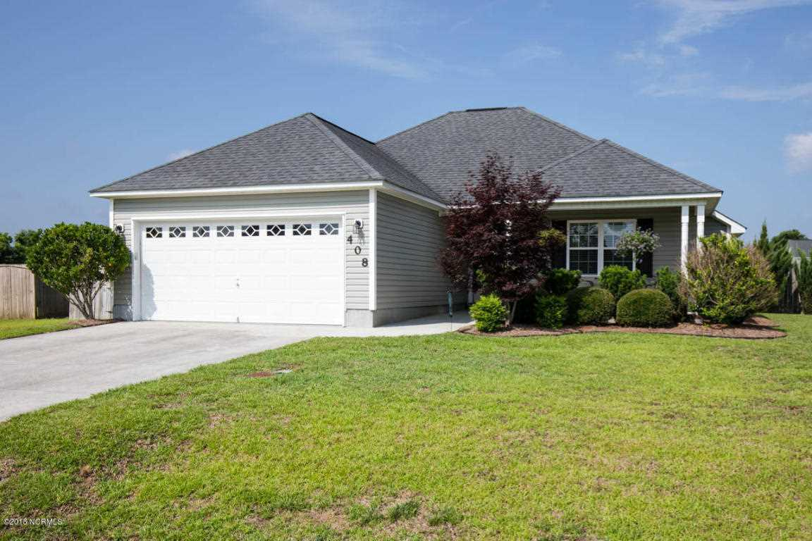 Home For Sale At 408 John Deere Court, Richlands NC in