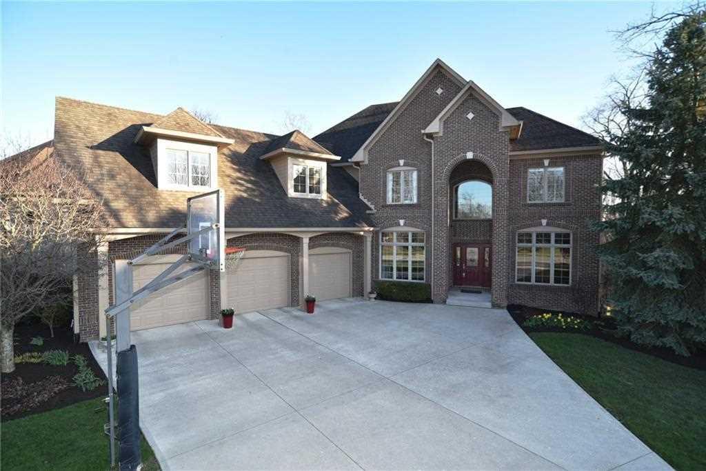 14605 Geist Ridge Drive Fishers, IN 46040 | MLS 21526304 Photo 1