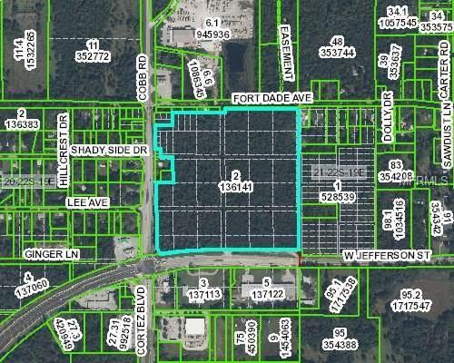View Map W N Cortez 51 Boulevard Brooksville Fl 34601 Mls