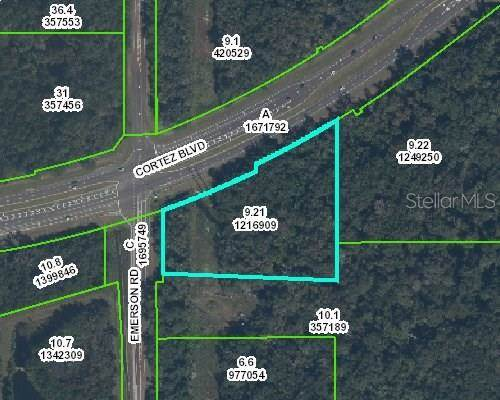 Brooksville Florida Map.View Map Cortez Emerson 49 Bypass Brooksville Fl 34601 Mls