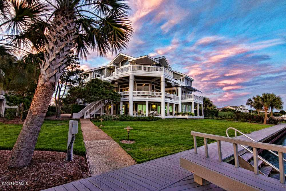 Home For Sale At 7 Sounds Point Road, Wilmington NC in Figure Eight Island Photo 1