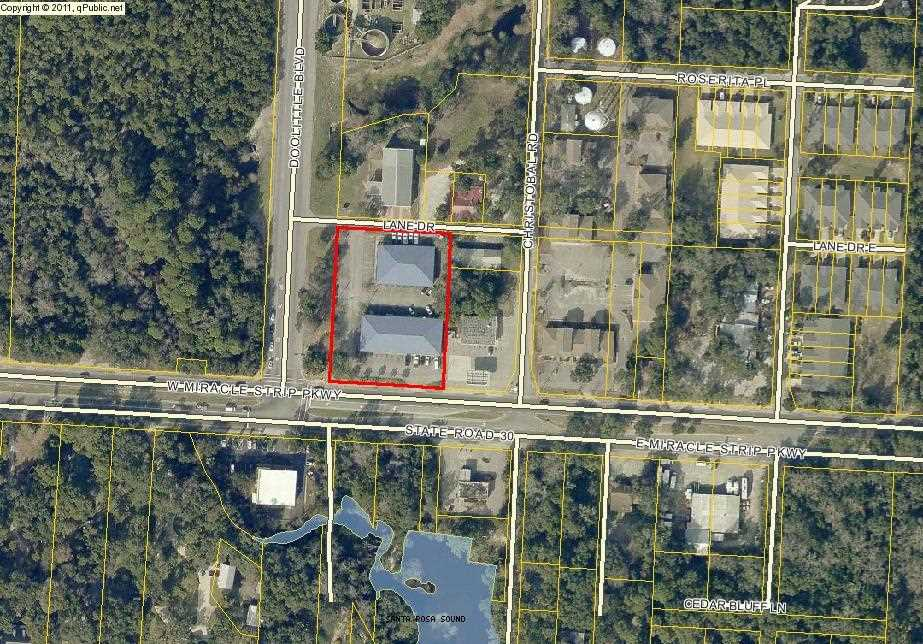 Map Of Mary Esther Florida.130 Hwy 98 Mary Esther Fl 32569 Mls 804486