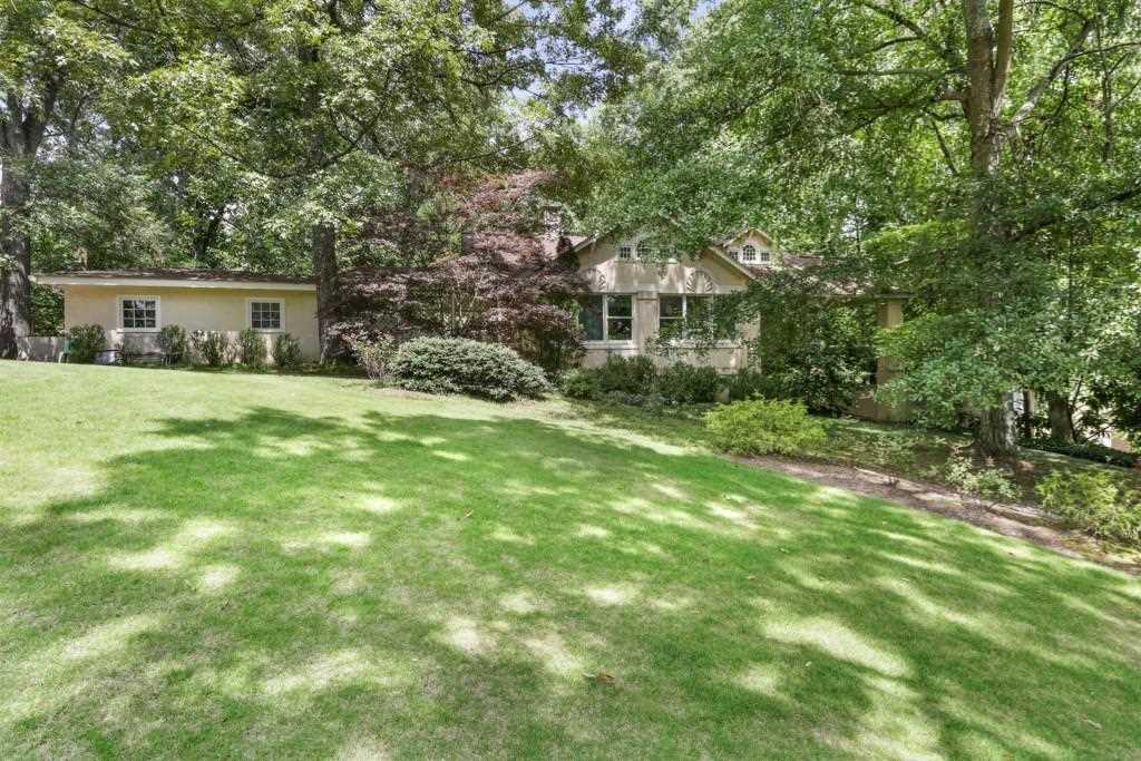 Private And Serene, 921 Heards Ferry Is Surrounded By Multi Million Dollar  Homes And