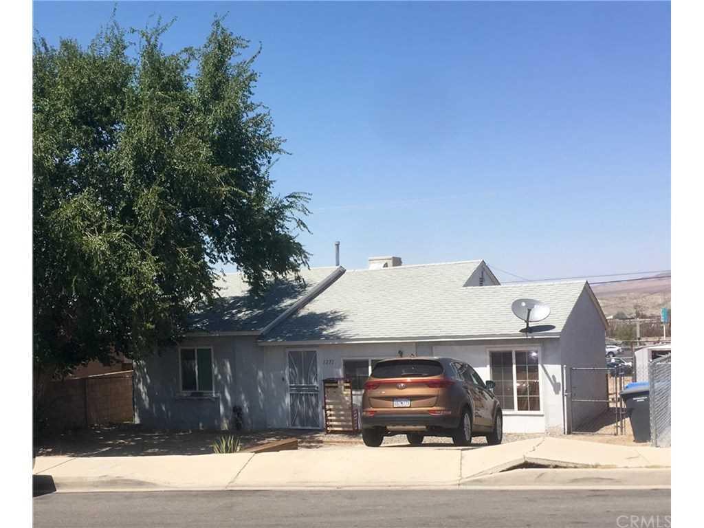 1271 Nancy Street Barstow, CA 92311   MLS EV18218683