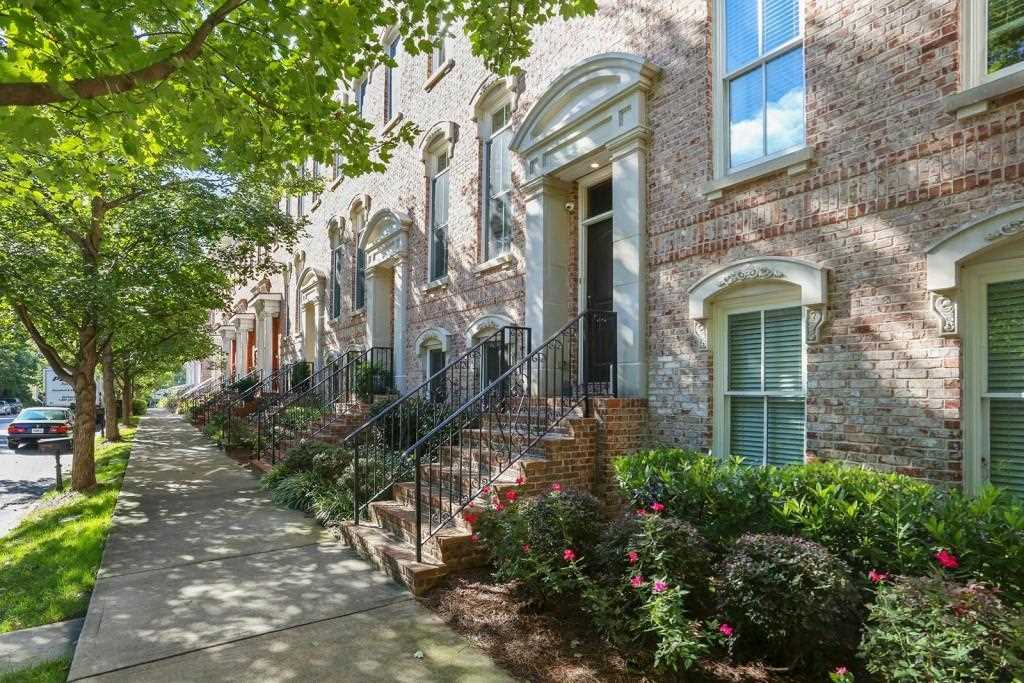 212 Montag Circle NE is a townhomes for sale located in the Inman Park community of Atlanta Photo 1