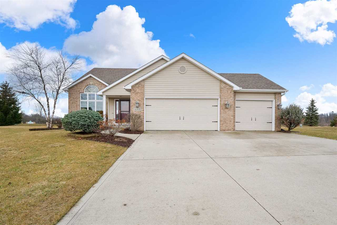 14302 Miracle Court Grabill, IN 46741 | MLS 201845606 Photo 1