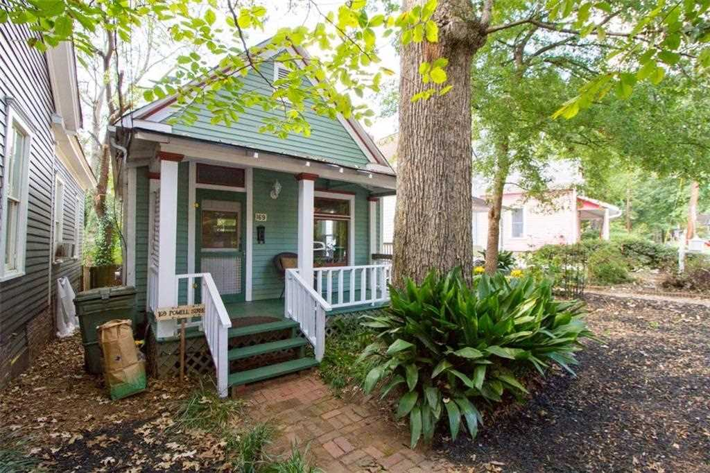 169 Powell St SE is a homes for sale located in the Cabbagetown community of Atlanta Photo 1
