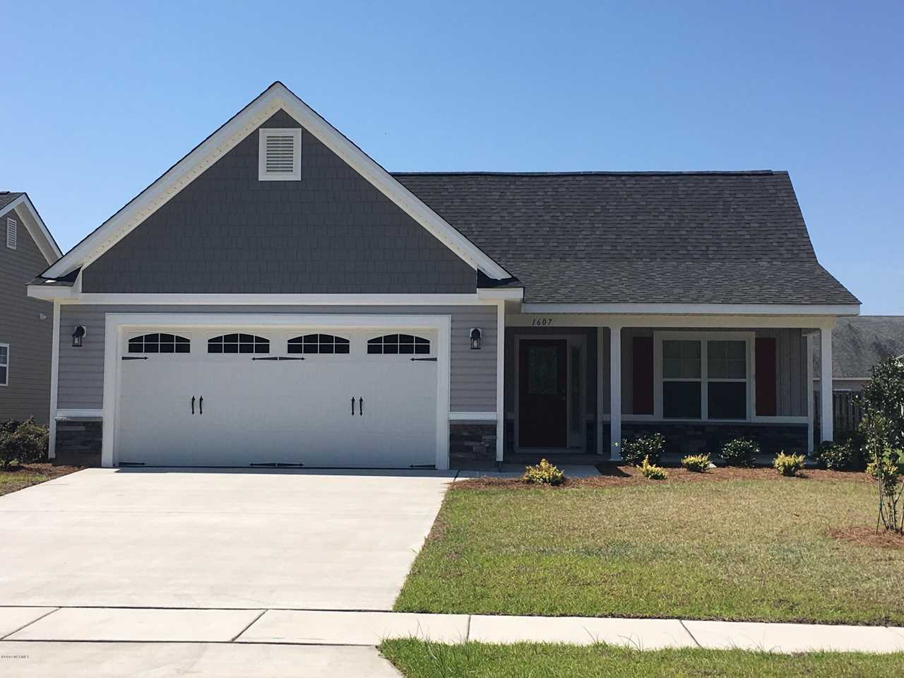 Home For Sale At 1607 Pine Harbor Way, Leland NC in Windsor Park Photo 1