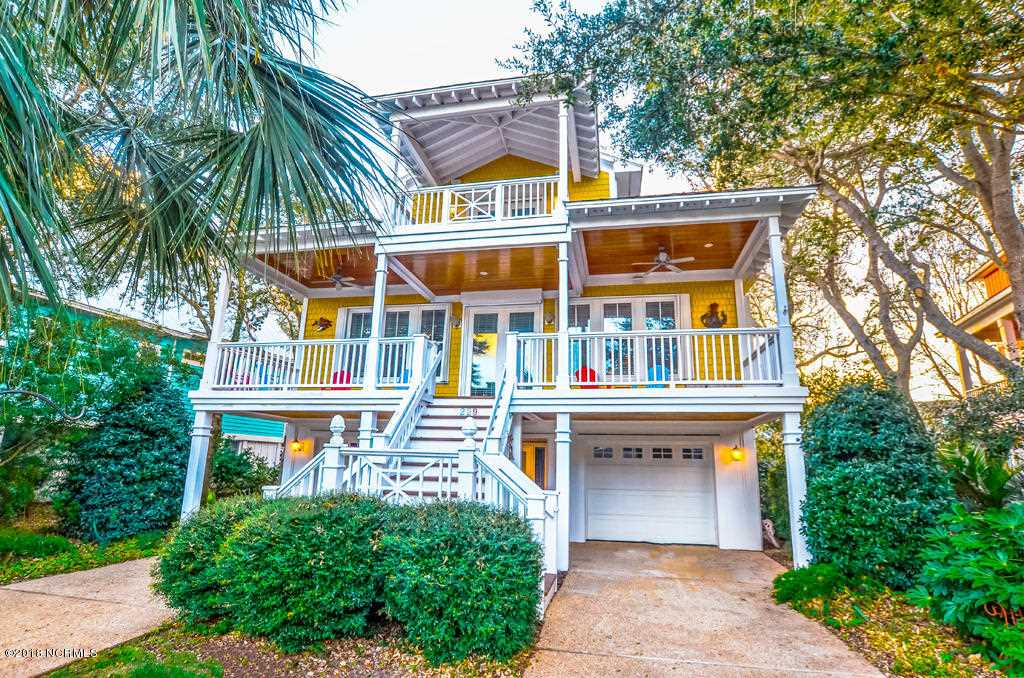 Home For Sale At 229 Seawatch Way, Kure Beach NC in Seawatch Photo 1