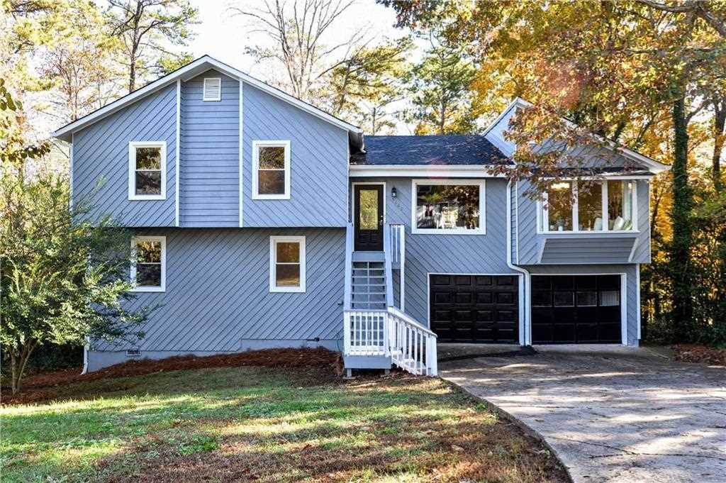 COMPLETELY RENOVATED In Kell HS District. Contemporary Multi Level W New  Exterior/interior Paint