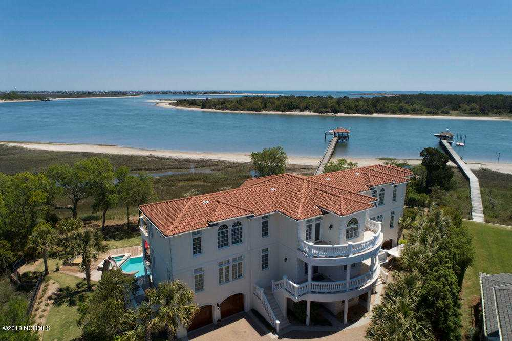 Home For Sale At 6309 Sea Mist Court, Wilmington NC in Cedar Island Photo 1