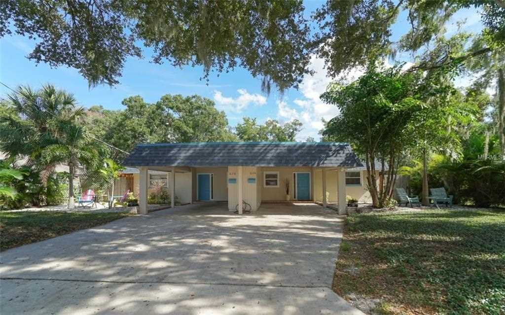 624/626 Goodrich Avenue - Sarasota - FL - 34236 - Inwood Park Photo 1