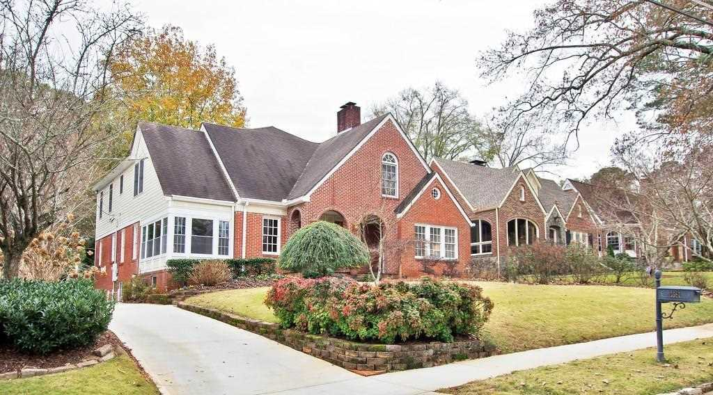 1681 Noble Dr NE is a homes for sale located in the Morningside community of Atlanta Photo 1